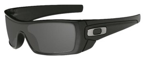 Oakley Oakley OO9101-04 Black w/Grey Lens Polarized Sunglasses