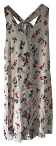 Club Monaco short dress White Floral Floral Print Summer Spring White on Tradesy
