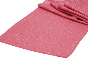 Lot Of 10 Sequin Coral Table Runners Glitter Sparkle Glam Bling Clearance