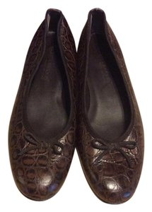 Andre Assous Chocolate Brown Flats
