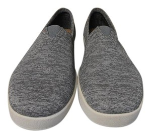 TOMS Mens Jersey New In Box grey Flats