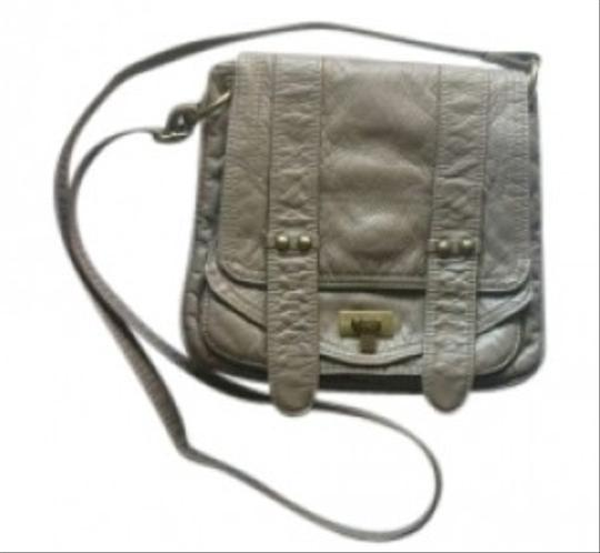 Preload https://img-static.tradesy.com/item/153920/bagtique-khaki-faux-leather-cross-body-bag-0-0-540-540.jpg