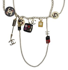 Chanel Chanel Enamel Makeup Charm Necklace