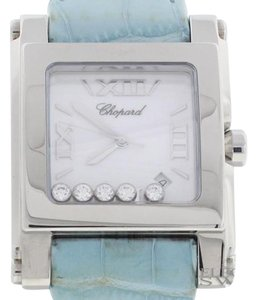 Chopard Chopard Happy Sport Square Ladies XL Watch, 28/8447-3001, Store Model