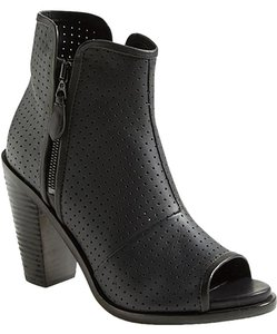Rag & Bone Leather Perforated Leather And black Boots