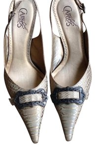 Carlos by Carlos Santana Gold Pumps