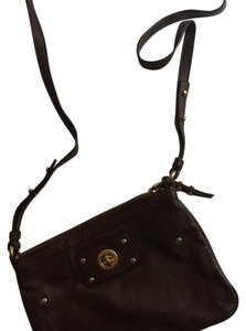 Marc by Marc Jacobs Leather Brown Chocolate Cross Body Bag