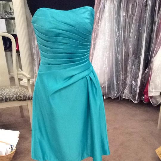 Mori Lee Turquoise Dress