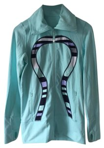 Lululemon Yoga Zip Up Turquoise Lulu