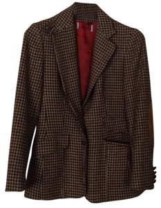 Vintage Checkered brown Blazer