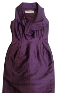 Valentino Roma Lilac Size 40 Sleeveless Front Bow Tie Dress