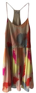 1.STATE short dress Bright Multi Pleated Colorful Boho on Tradesy