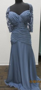 Montage Wedgewood Chiffon 213965 Formal Bridesmaid/Mob Dress Size 20 (Plus 1x)