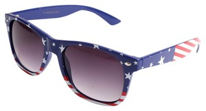 American Flag Square Sunglasses