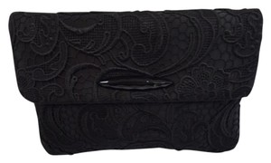 Franchi Evening Evening Cluch Black Clutch