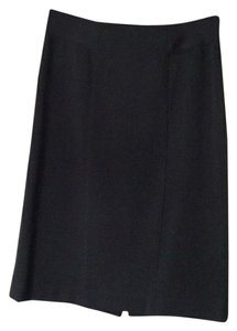 Rafaella Pencil Princess Seams Skirt Black