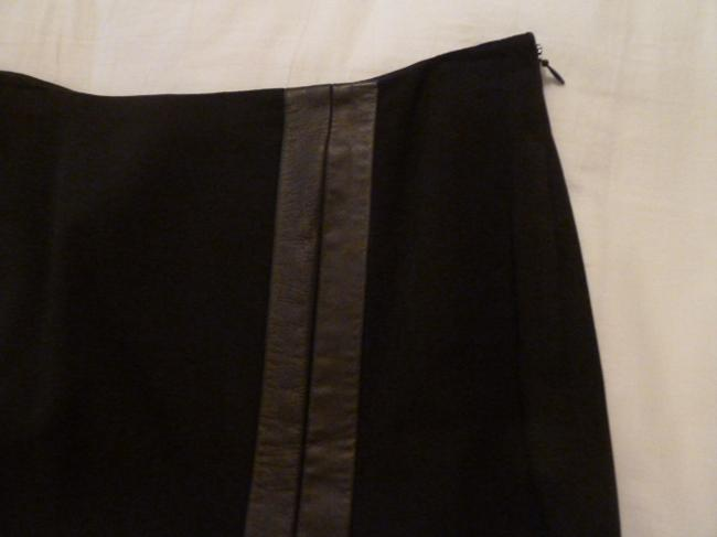 Dana Buchman Leather and wool two piece suit Image 7