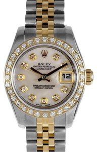 Rolex Rolex Ladies Date just Diamond Bezel Watch