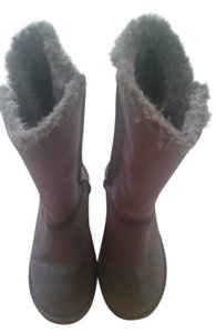 Sonoma Faux Fur Lined Gray Boots