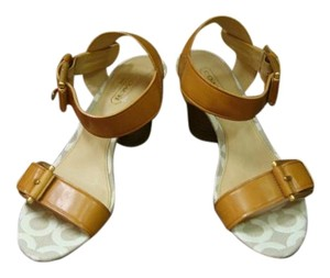 Coach Light brown Sandals