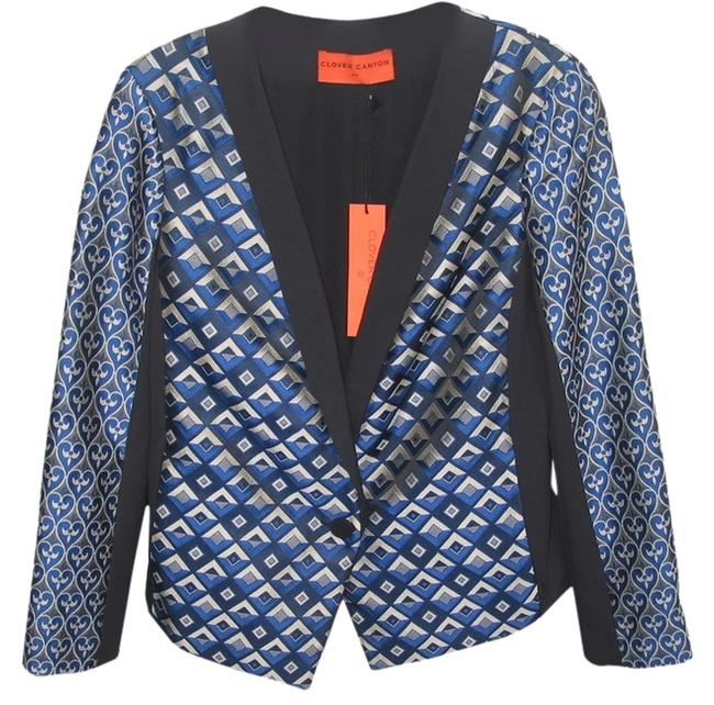 Preload https://item4.tradesy.com/images/clover-canyon-shiny-satin-black-and-blue-jacket-1539398-0-0.jpg?width=400&height=650