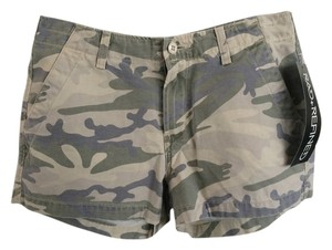 Lucky Brand Mini/Short Shorts Army Pattern