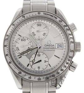 Omega Omega Speedmaster Chronograph 38MM Steel Automatic Mens Watch 3513.30.00 w/Card
