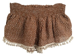 ETERNAL SUNSHINE CREATIONS Shorts Brown and White