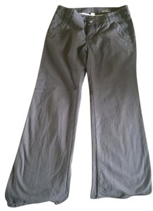 Anthropologie Night Out Casual Wide Leg Pants Gray