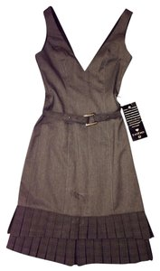 bebe Sheath Ruffle Dress