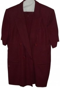 Oleg Cassini 2-Piece Linen Suit Size 14