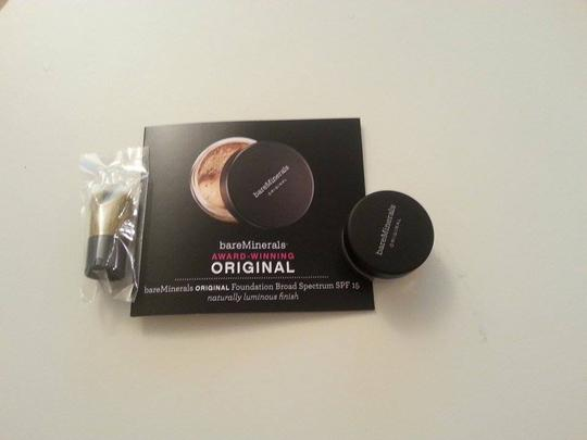 By bareMinerals New 3pcs of sample cosmetics