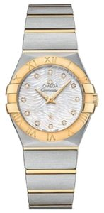 Omega Omega Constellation 18K Yellow Gold Quartz Watch 123.20.27.60.55.008