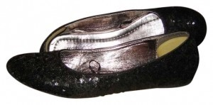 Maurices Black/Sequin Flats