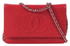 Chanel Cc Woc Ch.k0407.04 Caviar Cross Body Bag