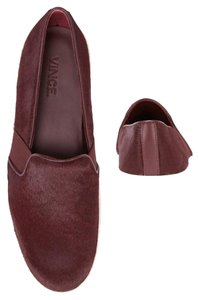 Vince Slip On Low Red Burgundy Athletic