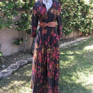 Black/floral print Maxi Dress by Free People