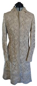 Valentino Lace Dress Coat