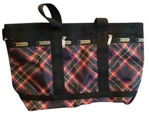 LeSportsac Travel Lightweight Nylon Tote in Plaid