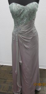 Montage Purple Haze Chiffon 29978 Formal Bridesmaid/Mob Dress Size 14 (L)