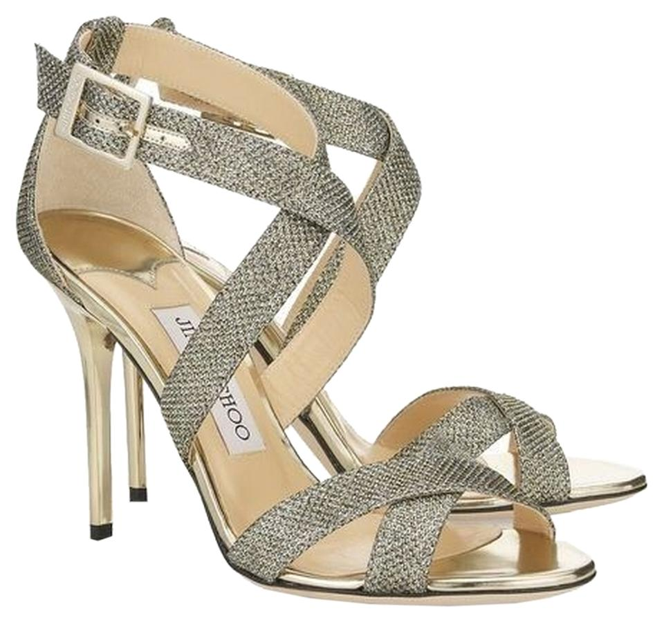 to buy coupon codes affordable price Jimmy Choo Light Bronze Lottie Sandal Formal Shoes Size US 6.5 55% off  retail