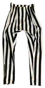 Buffalo David Bitton Harem Coachella Skinny Pants Black and white