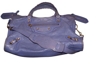 Balenciaga Giant 12 City City Limited Satchel in LAVENDER