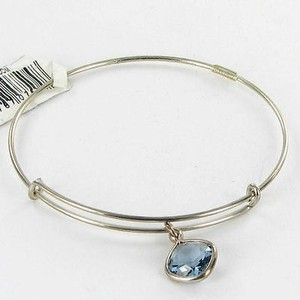 Alex and Ani Alex And Ani Pc13b119s Color Therapy Intuition Blue Bracelet Russian Silver