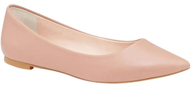 Item - Nude Pointed Toe Flats Size US 7.5