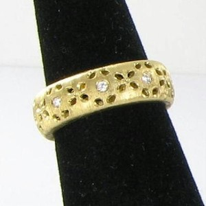 Roberto Coin Roberto Coin Ring 6.75 Granada 0.28cts Diamond 18k Yellow Gold