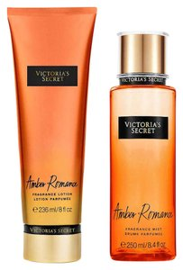 Victoria's Secret Victoria Secret Fragrance Body Lotion & Body Mist Set (Amber Romance)