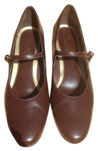 Hush Puppies Chocolate Brown Pumps