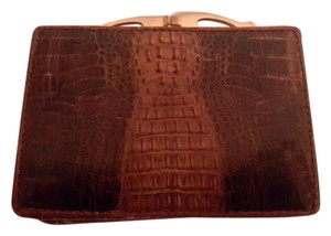 Aligator skin Genuine aligator skin wallet with coin compartment