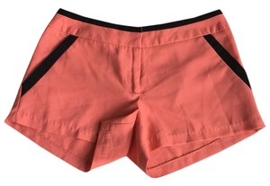 Arden B. Dress Shorts Coral with black accent